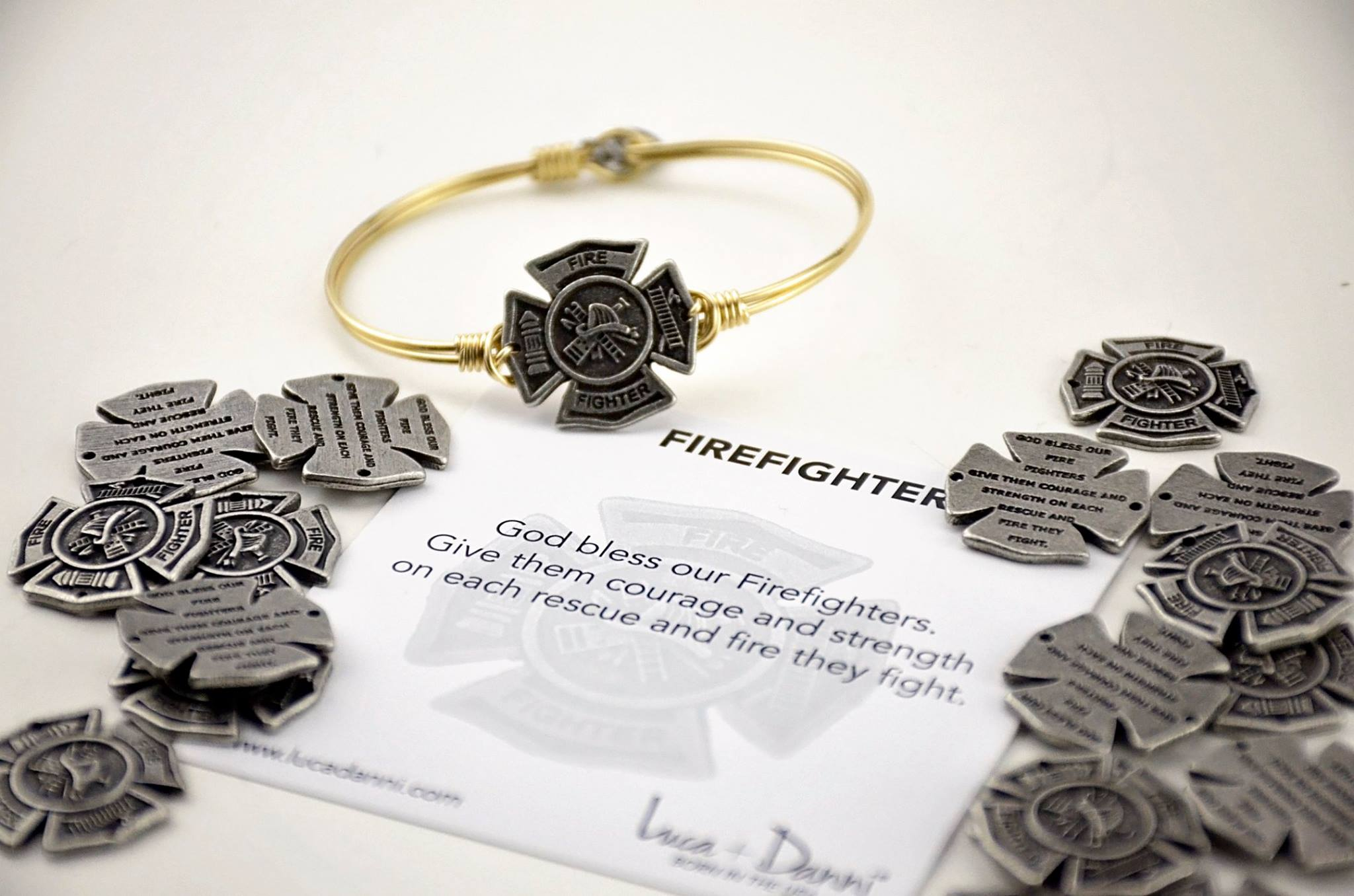 Luca + Danni - FireFighter.jpg - brand name designer jewelry in Oak Harbor, Washington