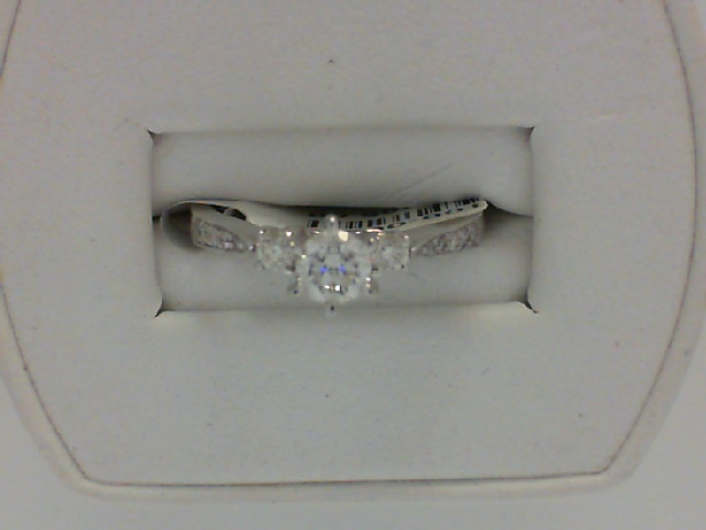 Diamond Engagement Ring by Alisa Unger