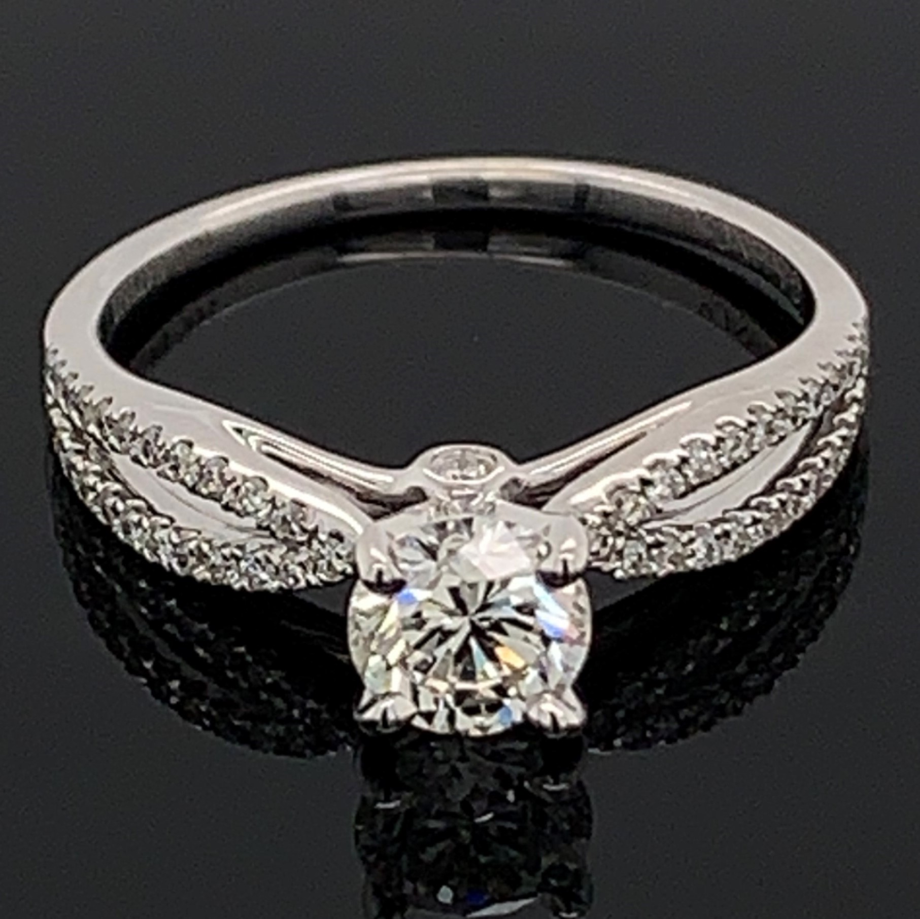 Gabriel & Co. Diamond Engagement Ring by Gabriel & Co