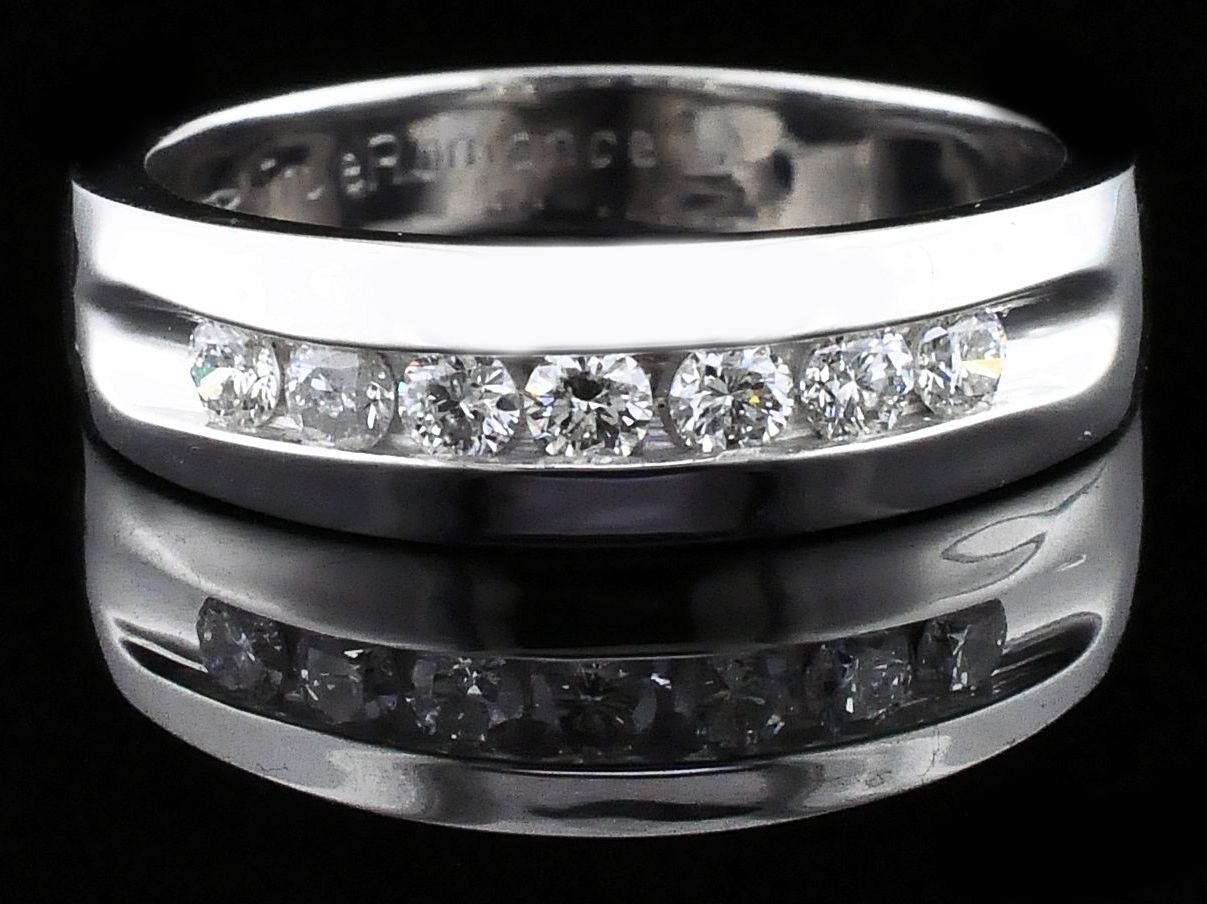 True Romance Diamond Wedding Band - Men