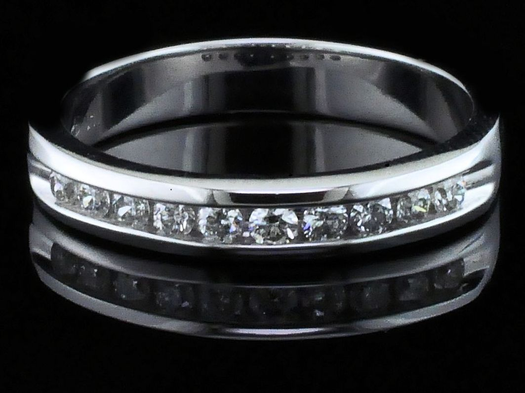 True Romance Diamond Anniversary Ring by True Romance