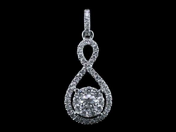 Diamond Pendant by Signature Bridal Collection