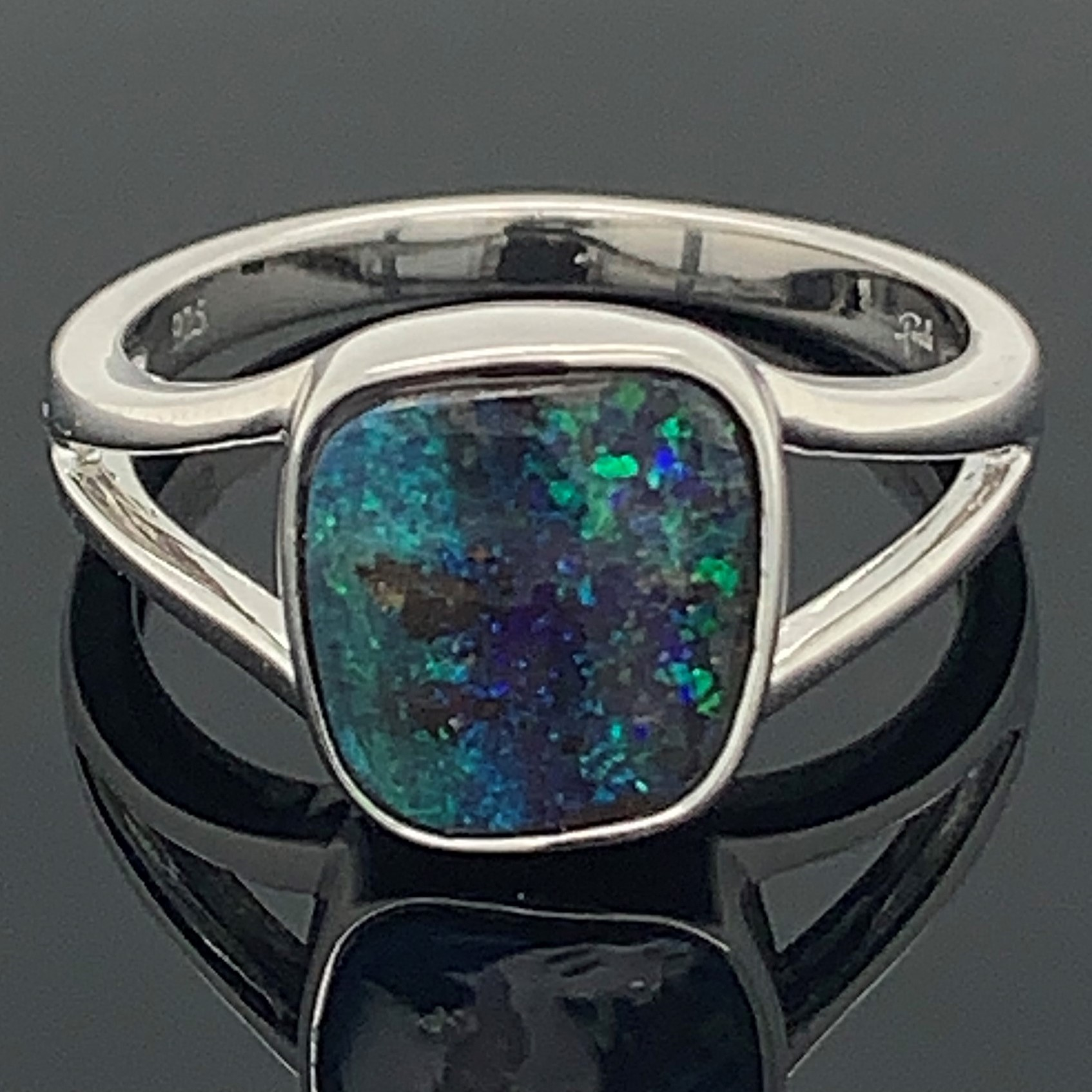 Boulder Opal Ring by Parle