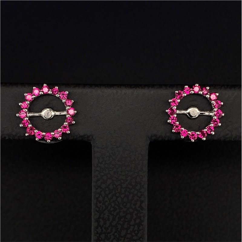 Ruby Earring Jackets by Parle