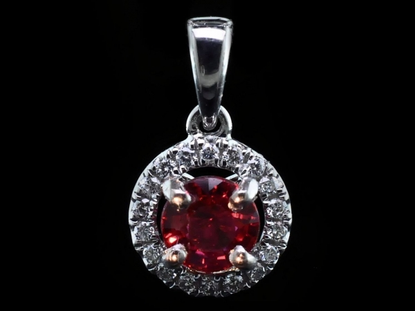 Gemstone Pendant by Fire 🔥 Ruby
