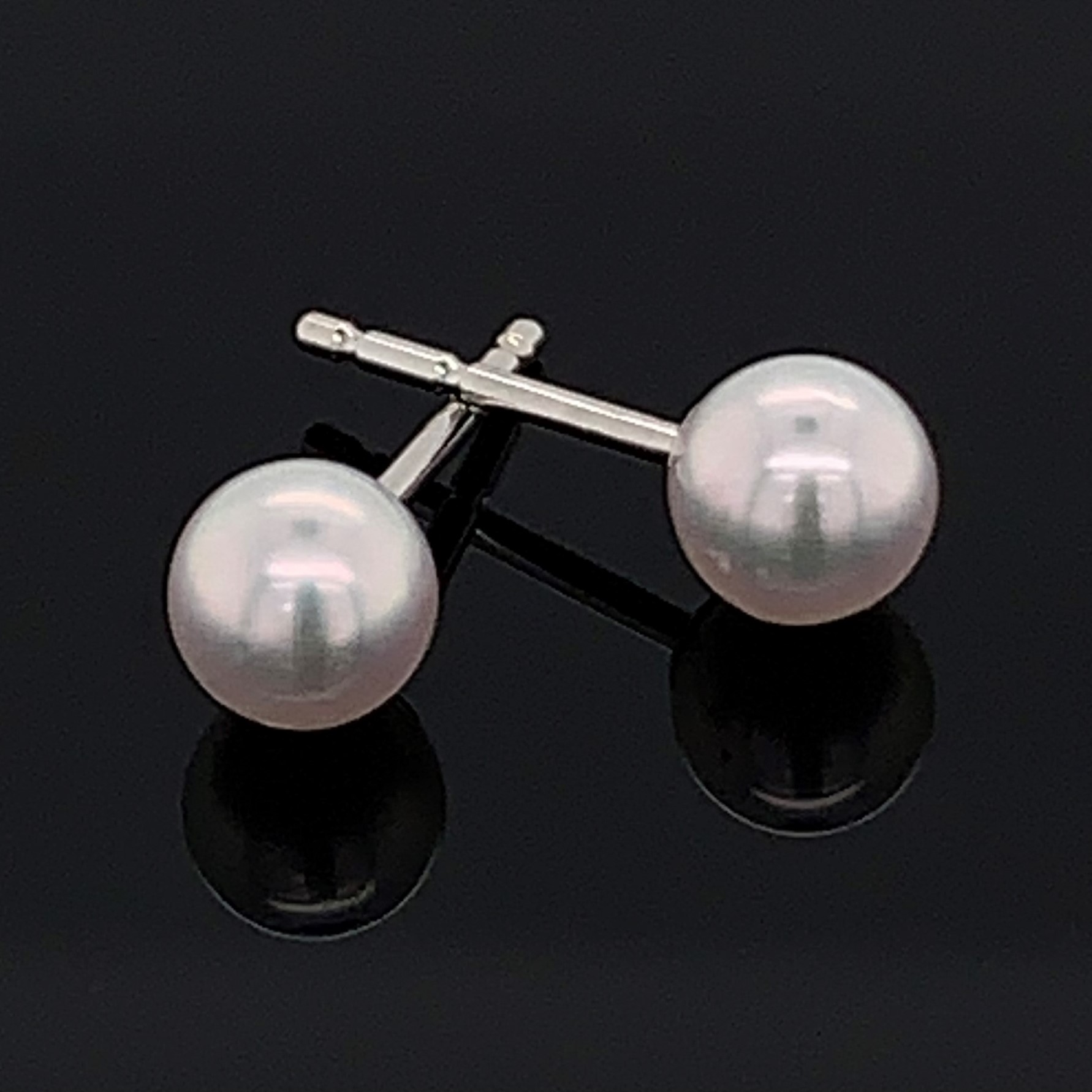 4Mm Cultured Pearl Stud Earrings by Imperial Pearls