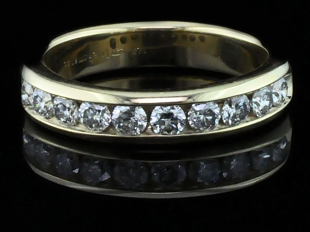 .75Ct Total Weight Diamond Anniversary Ring by True Romance