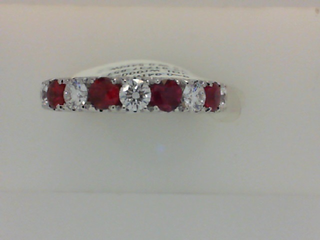 Ladies Fire Ruby and Diamond Ring by Signature Bridal Collection