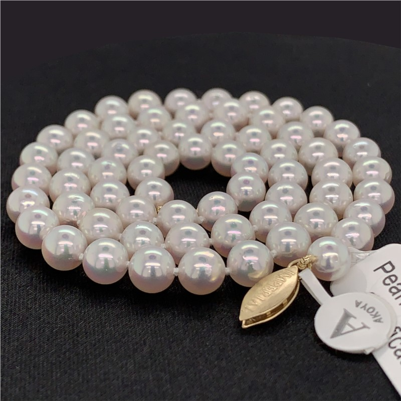 High Luster Akoya Pearl Strand by Imperial Pearls