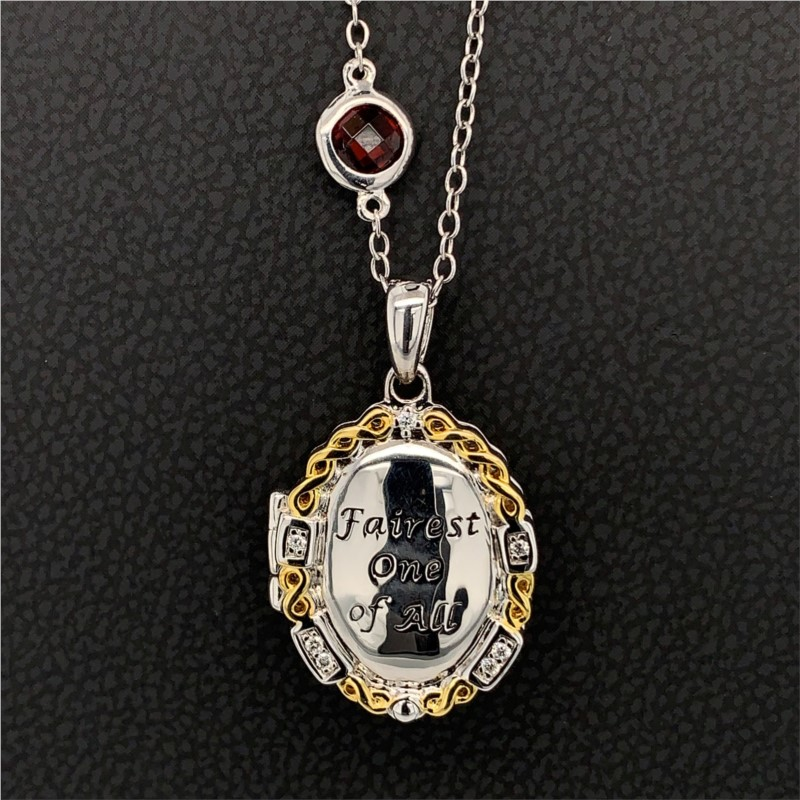 "Enchanted Disney ""Fairest One of All"" Locket by Enchanted Disney"